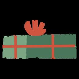 Closed gift box illustration
