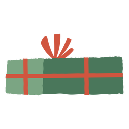 Ilustração de caixa de presente fechada