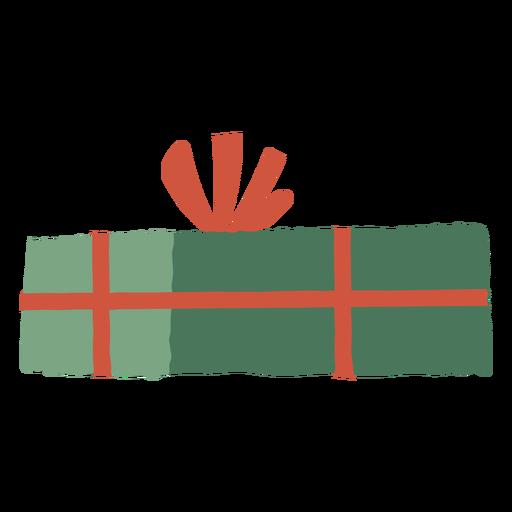 Closed gift box illustration Transparent PNG