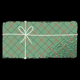Sobre de regalo de ilustración colorida