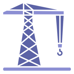 Icono de la máquina grúa