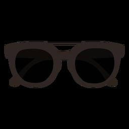 Gafas de sol oscuras diseño plano
