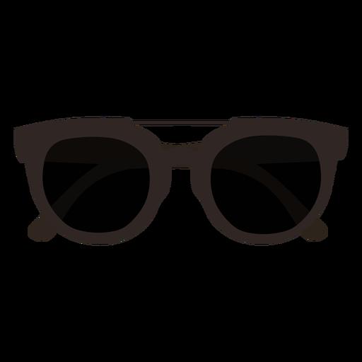 Dark sunglasses flat design