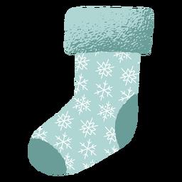 Dekoration Weihnachtsmann Socke