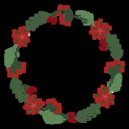 Guirnalda decorativa de guirnalda de navidad