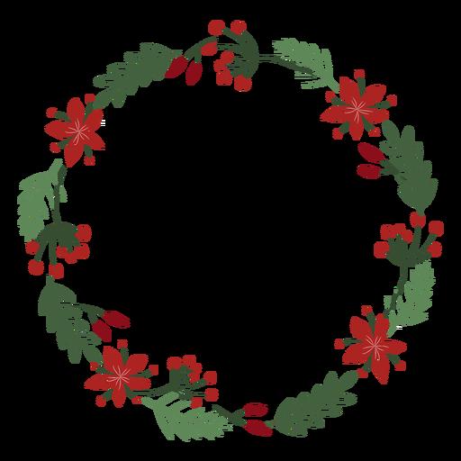 Guirlanda decorativa de guirlanda de Natal Transparent PNG