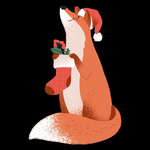 Fox christmas stangin animal