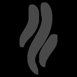 Icono de fumar humo