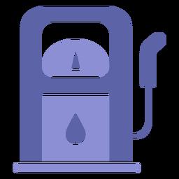 Diseño de silueta de maquinaria de gasoil