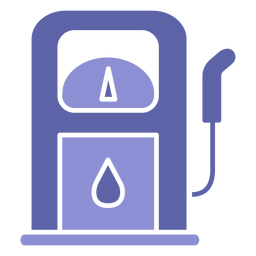 Gasoil machinery silhouette design