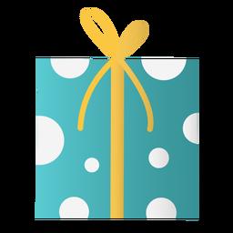 Diseño de doodle de caja de regalo