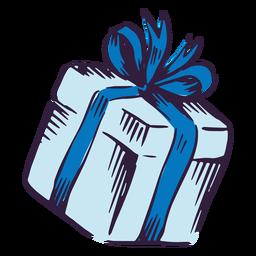 Projeto de ilustração de caixa de presente