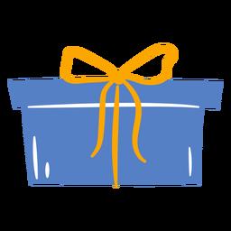 Caja de regalo con diseño sorpresa.