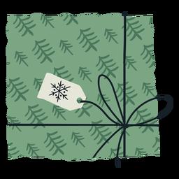 Ilustración de sobre de regalo