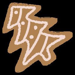 Ilustração de biscoito de Natal de gengibre