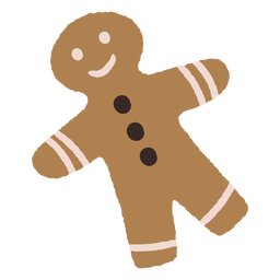 Gingerbread cookies christmas illustration