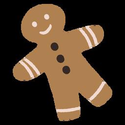 Ilustração de Natal de biscoitos de gengibre