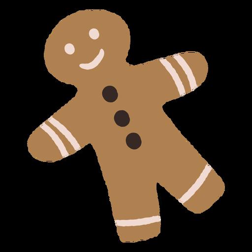Ilustraci?n de navidad de galletas de jengibre