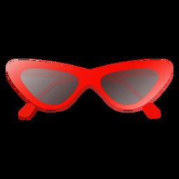 Glänzende Cat Eye Sonnenbrille