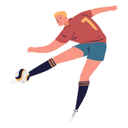 Objetivo masculino de jogador de futebol