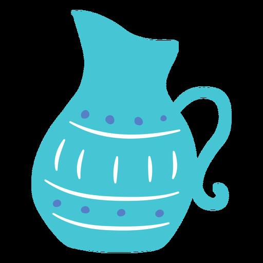 Diseño de doodle de tarro de Hanukkah