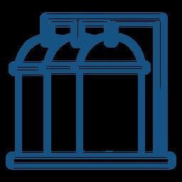 Indústria de recipientes para máquinas