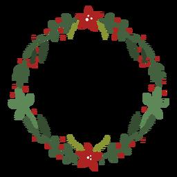 Guirlanda de Natal frondosa
