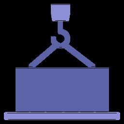 Ícone de máquina de elevação
