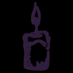 Design de pincelada de luz