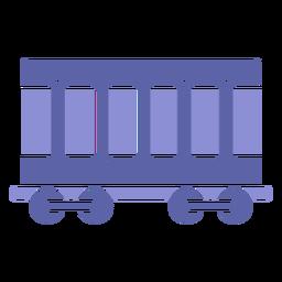 Icono de silueta de vehículo de carga