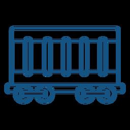 Cargar icono de carrera del vehículo