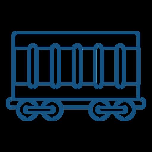 Load vehicle stroke icon