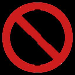 Icono de no fumar