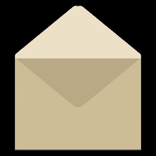 Open envelope flat