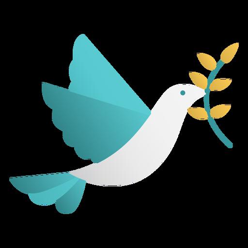 Dise?o de doodle de paloma de la paz