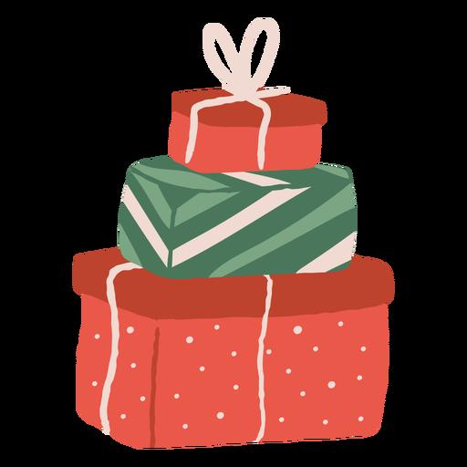 Pila de ilustración de regalos