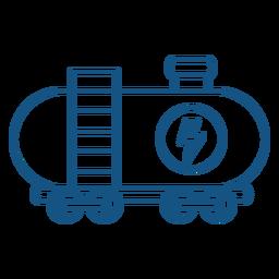 Carrera de transporte de carga de potencia