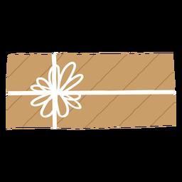 Present envelope illustration