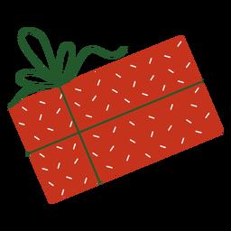 Present flat christmas design