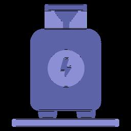 Contenedor de industria radiactiva