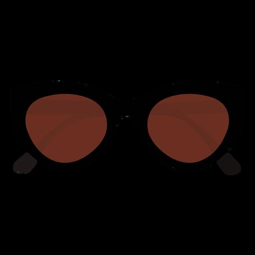 Rectangular sunglasses style flat