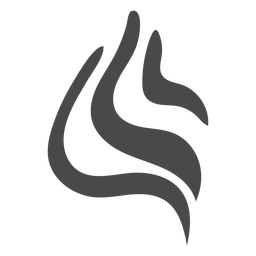 Icono de hebras de icono redondeado