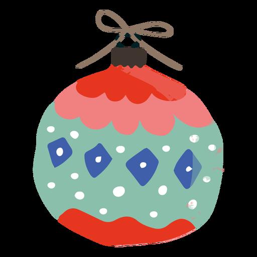 Ilustración de decoración de ornamento redondeado