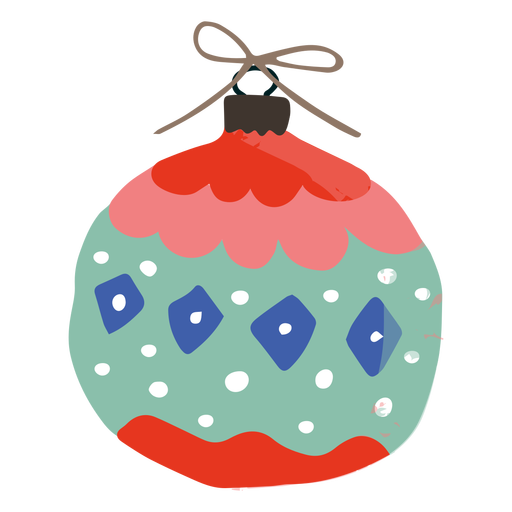Rounded ornament decoration illustration