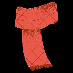 Bufanda ropa diseño navideño