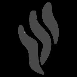 Silhueta de ícone de fumar