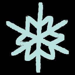 Ilustración de copo de nieve copo de nieve