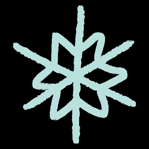 Ilustraci?n de copo de nieve copo de nieve