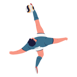 Soccer player character top view