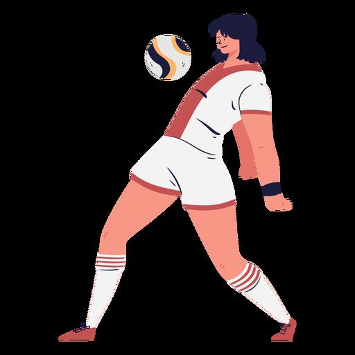 Jugador de fútbol pecho el pelota Transparent PNG
